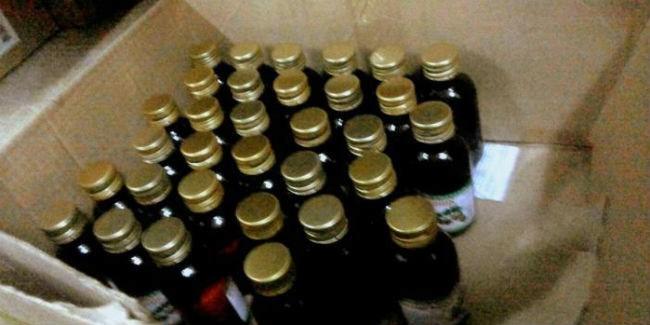 Роспотребнадзор арестовал 4,2 тысячи литра спиртосодержащей продукции в43 областях
