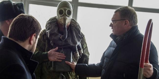 Омский губернатор Бурков сказал, как водил танк