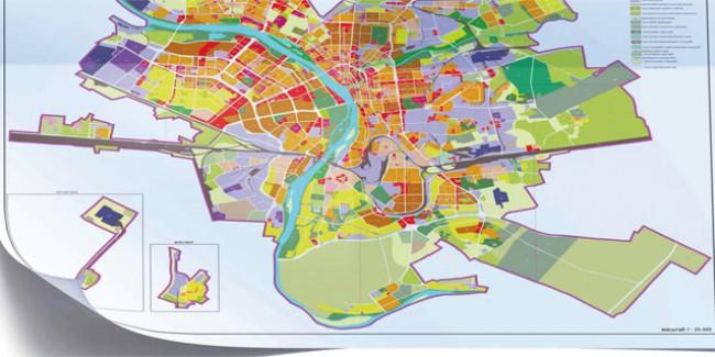 Карта градостроительного