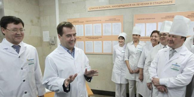 Натрудоустройство медсотрудников всельской территории выделены 3,2 млрд руб.