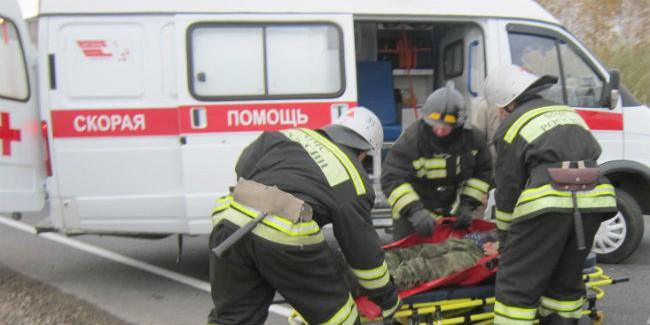 Под Омском 4 ребёнка пострадали вДТП
