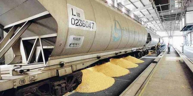 Правительство выделит субсидии РЖД наперевозки зерна