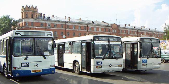 Маршрут автобуса из омского