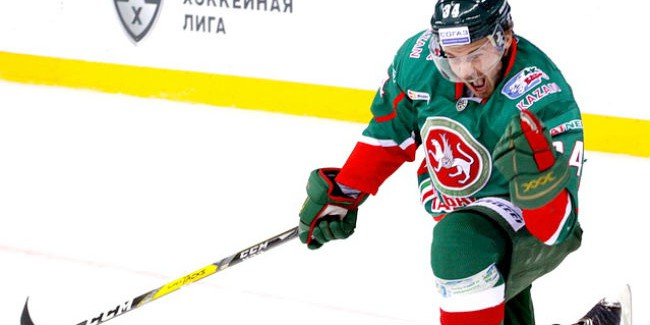 КХЛ. Шайба Азеведо принесла «АкБарсу» минимальную победу вматче с«Авангардом»