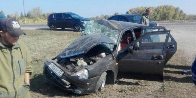 Черлак: ДТП сосмертельным исходом случилось натрассе Омск