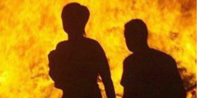 Омича подозревают вподжоге дома, вкотором сгорела мать его возлюбленной