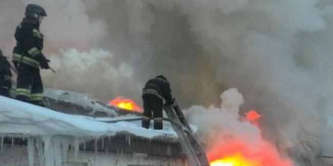 Супруги погибли впроцессе пожара в личном доме