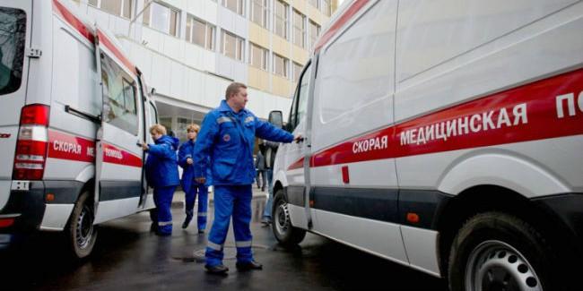 ВОмске случилось тройное ДТП сучастием кареты скорой помощи
