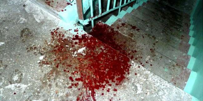 ВОмске мужчина зарезал супругу иребенка, после этого убил себя