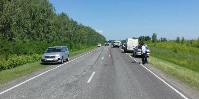 Шофёр «Тойоты» на84км дороги Омск— Тара насмерть сбил шестилетнюю девочку