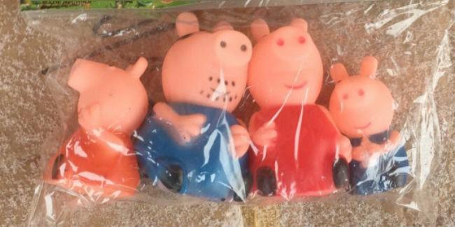 Поддельные свинки Пеппы найдены впартиях игрушек вОмске