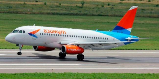 1-ый рейс изРостова в российскую столицу запустила авиакомпания «Азимут»