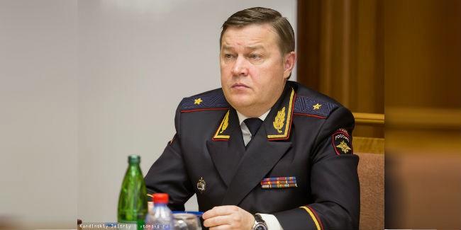 Уголовное дело возбуждено вотношении экс-начальника томского главка МВД