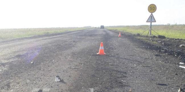 Гражданин Омской области на Опель Astra столкнулся с«уазиком» и умер