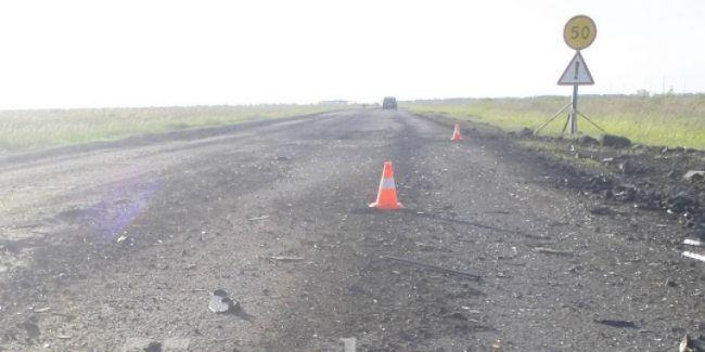 ВОмской области шофёр «Лады» без прав врезался вКамАЗ
