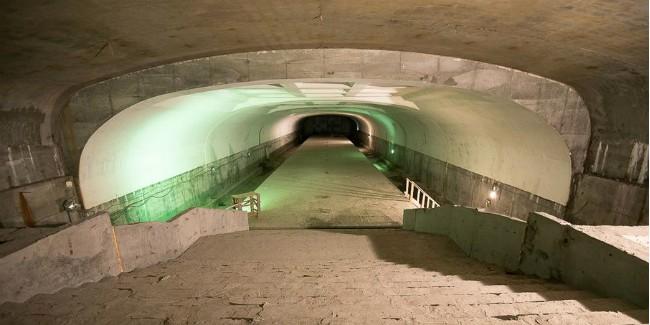 Стройку метро вОмске заморозили на неизвестный срок