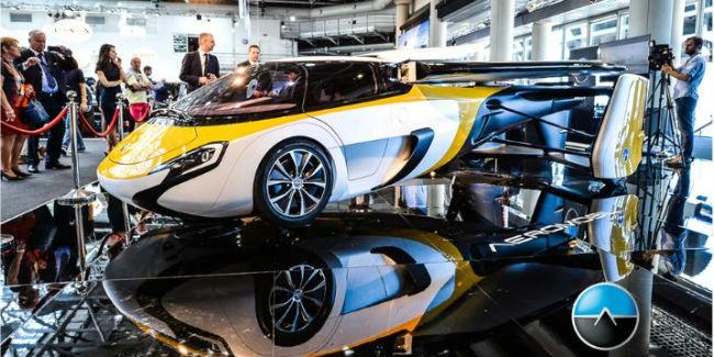К 2020 летающий автомобиль AeroMobil будет серийным