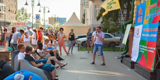 Улица Чокана Валиханова надень будет  молодёжным Арбатом