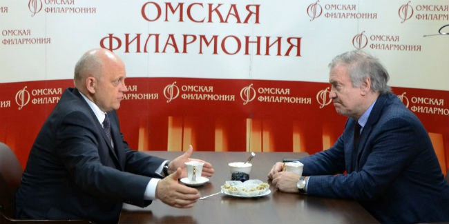 Георгиев обсудил сНазаровым гастрольную деятельность