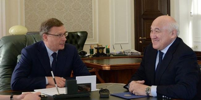 Бурков проинформировал, что продажи омских товаров вКазахстан увеличились натреть