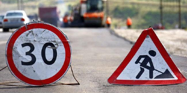 ВОмской области начали чинить федеральную дорогу