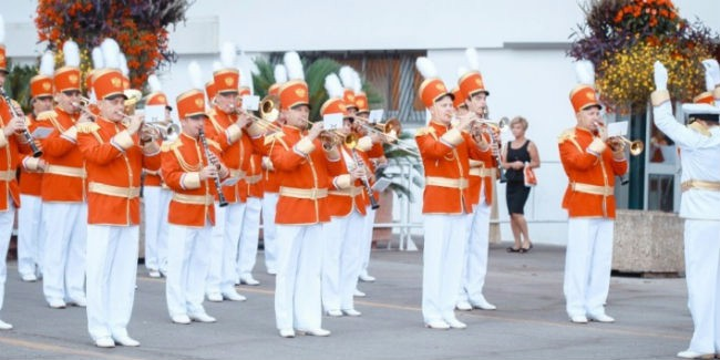 Духовой ансамбль изОмска возглавит национальный парад РФ вАстане