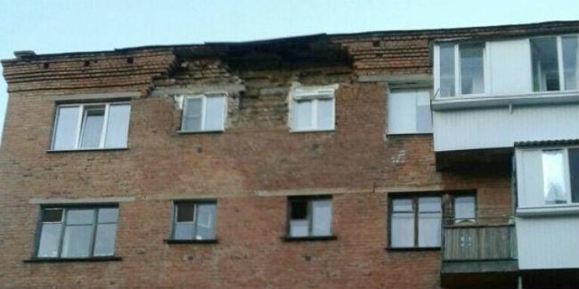 ВОмске наремонт дома, где обрушилась часть стены, выделят 7 млн