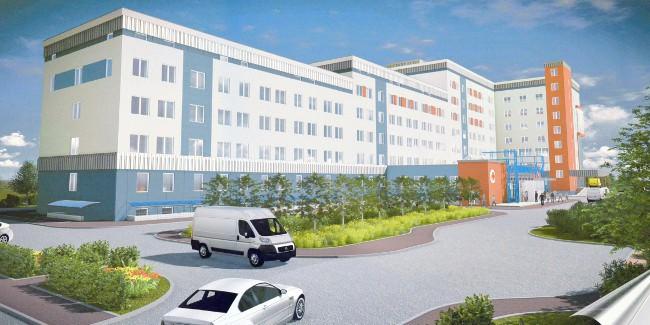 Надостройку больницы наЛевобережье Омска требуется 234 млн руб.