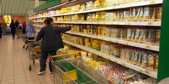 ВОмской области упала вцене пища