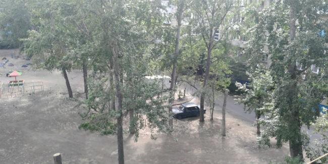 Нарегион обрушится град идождь сгрозами— Метеорологи Белгорода предупреждают