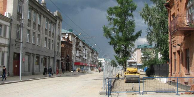 МЧС снова заявляет штормовое предупреждение вОмске иобласти