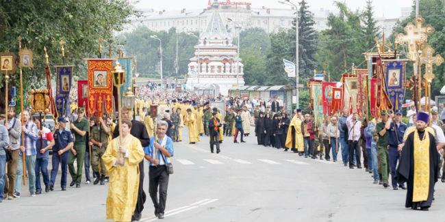 ВОмске отпразднуют годовщину крещения Руси крестным ходом