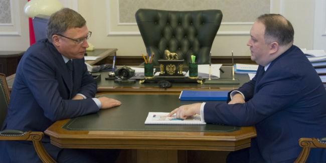 Бурков иРепин обсудили бегство предпринимателей изОмской области