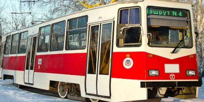 Намаршрут вОмске вышел трамвай, отремонтированный за4 млн