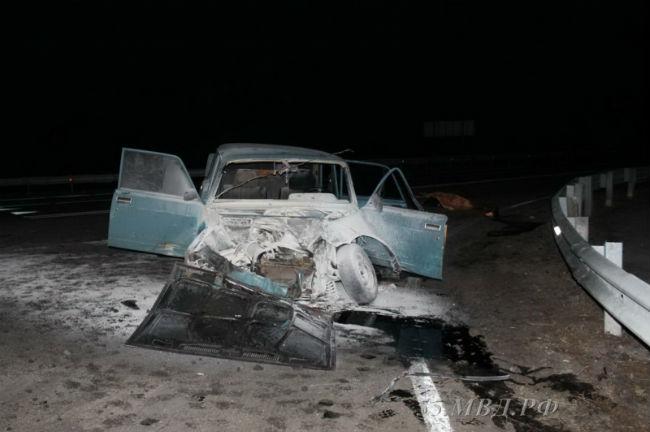Тойота влетела под бетономешалку вОмске, виномарке невыжил никто