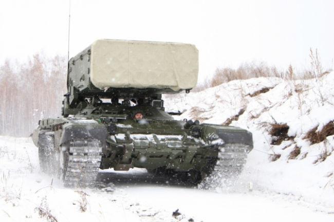 Партия модернизированных огнемётных систем ТС-1А «Солнцепёк» готовится котправке ввойска