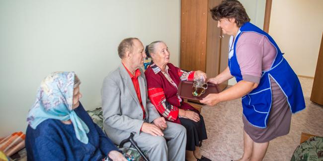 Пансионат для пожилых людей молоково