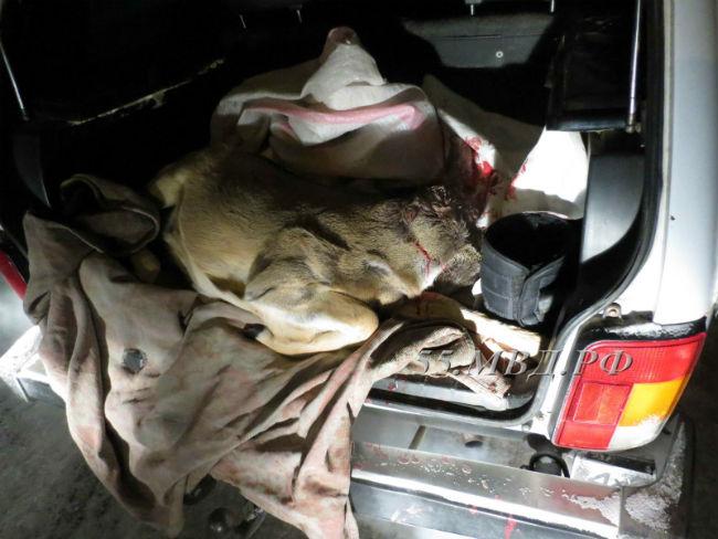 Натрассе Омск-Тюмень полицейские остановили «Жигули» соследами крови