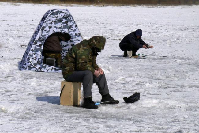 ВОмской области рыбак провалился под лёд и потонул