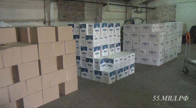 Омские полицейские обнаружили контрафактный спирт  стоимостью 10 млн руб.