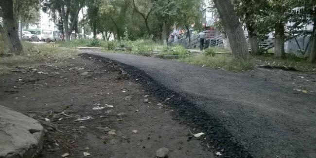 ВОмске построят тротуаров на100 млн руб